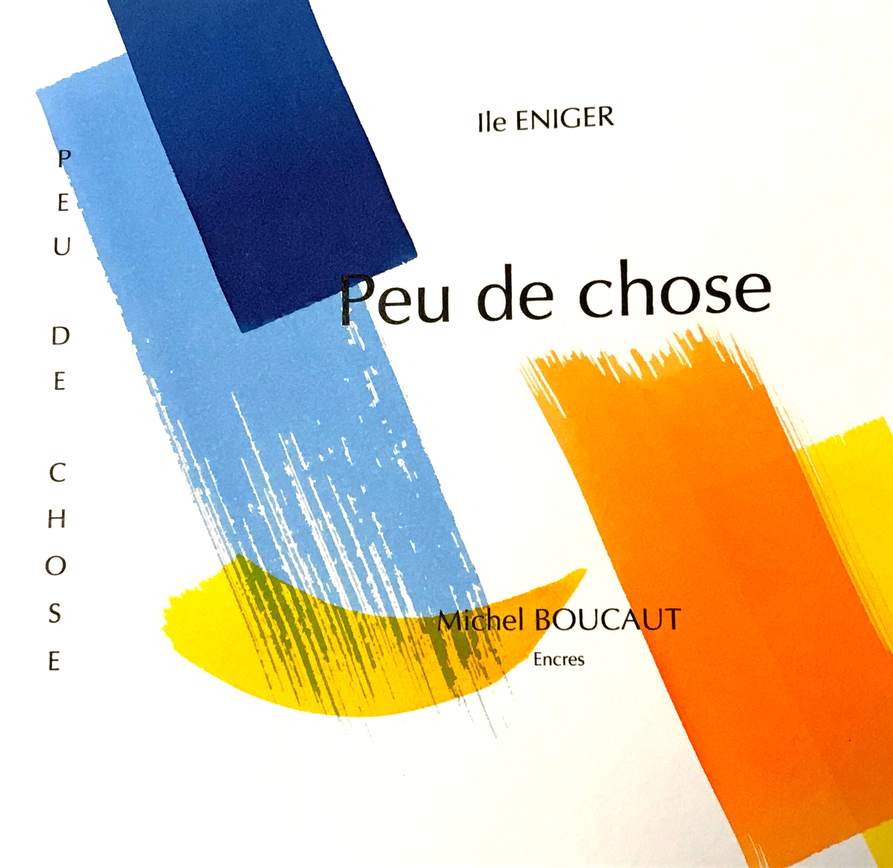 "Couverture de ""Peu de choses"""